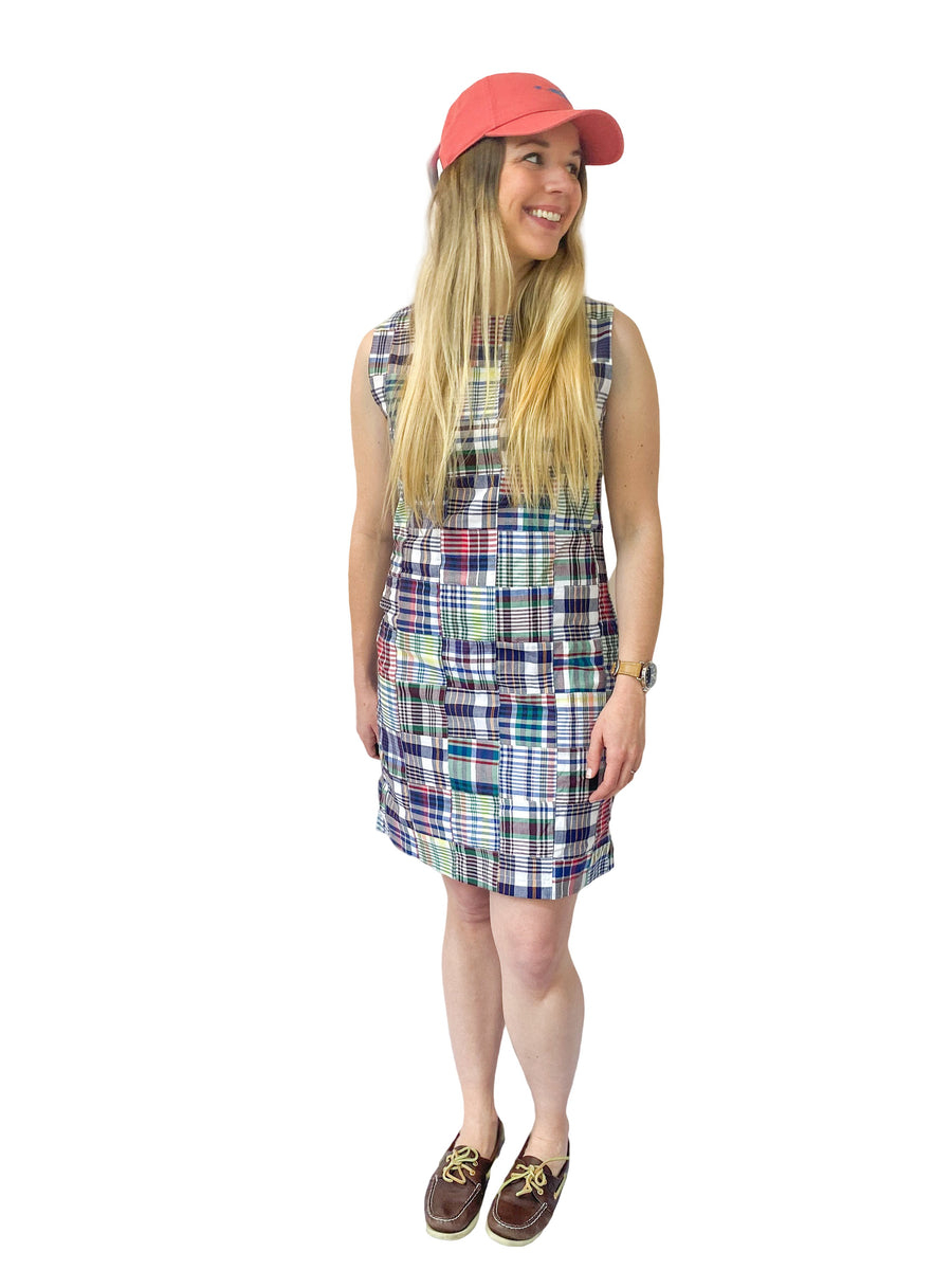 Classic Shift Dress- Chatham - Just Madras
