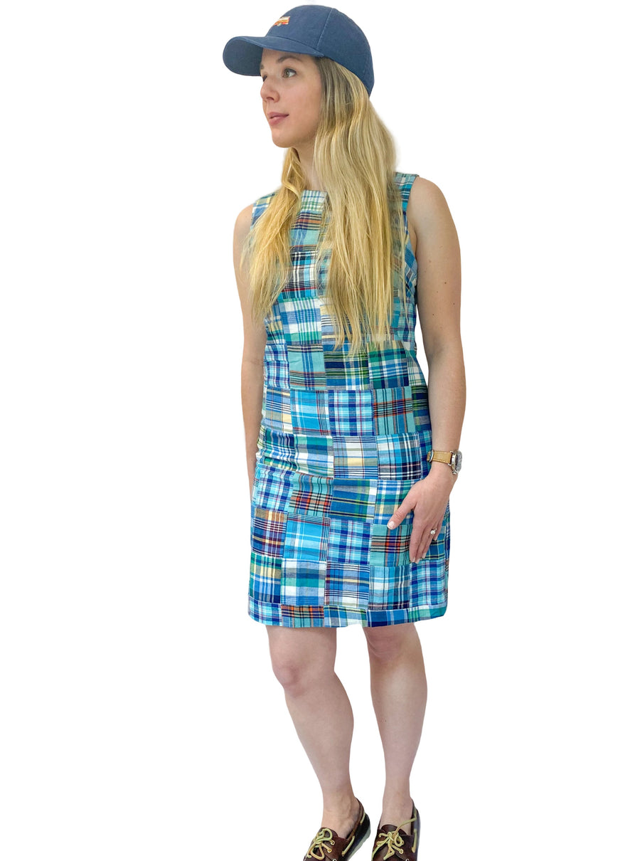 Classic Shift Dress- Bethany - Just Madras