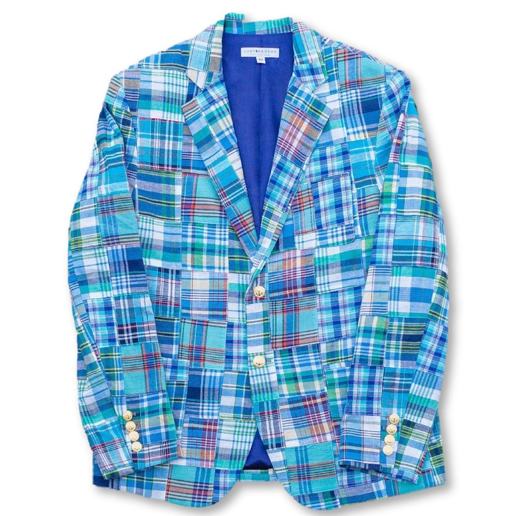 Madras Blazer- Bethany - Just Madras