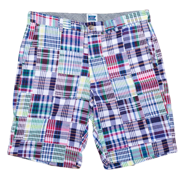 Patchwork Madras Shorts - Chatham - Just Madras