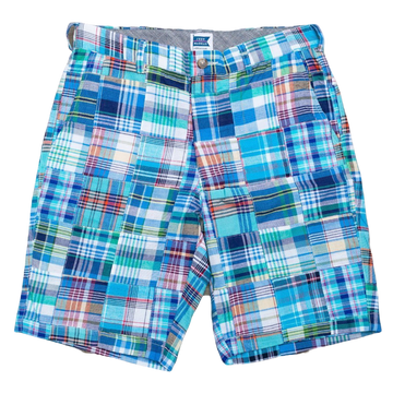 Patchwork Madras Shorts - Bethany - Just Madras
