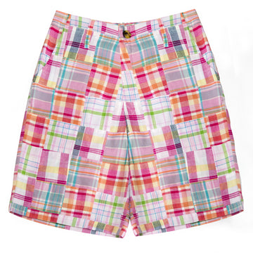 Mens Classic Madras Shorts- Tucker's Point - Just Madras
