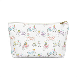 Open image in slideshow, Accessory Pouch- Beach Cruisers - Just Madras