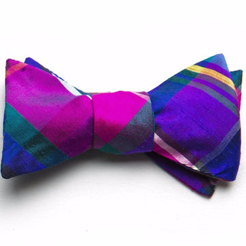 Silk Bow Tie- Palm Beach - Just Madras