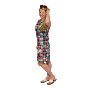 Classic Shift Dress- Menemsha - Just Madras