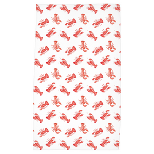 Open image in slideshow, Tea Towels- Lobster Print - Just Madras