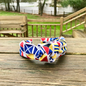Turban Headband- Signal Flags