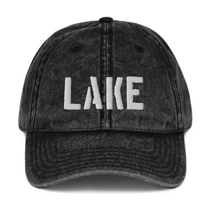 Open image in slideshow, Vintage Cotton Twill Cap- LAKE - Just Madras