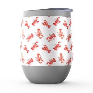 Open image in slideshow, Stemless Wine Tumblers- Lobsters - Just Madras