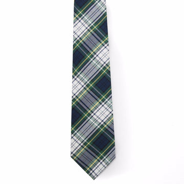 Typewriter Cloth Tie- Campbell Tartan - Just Madras