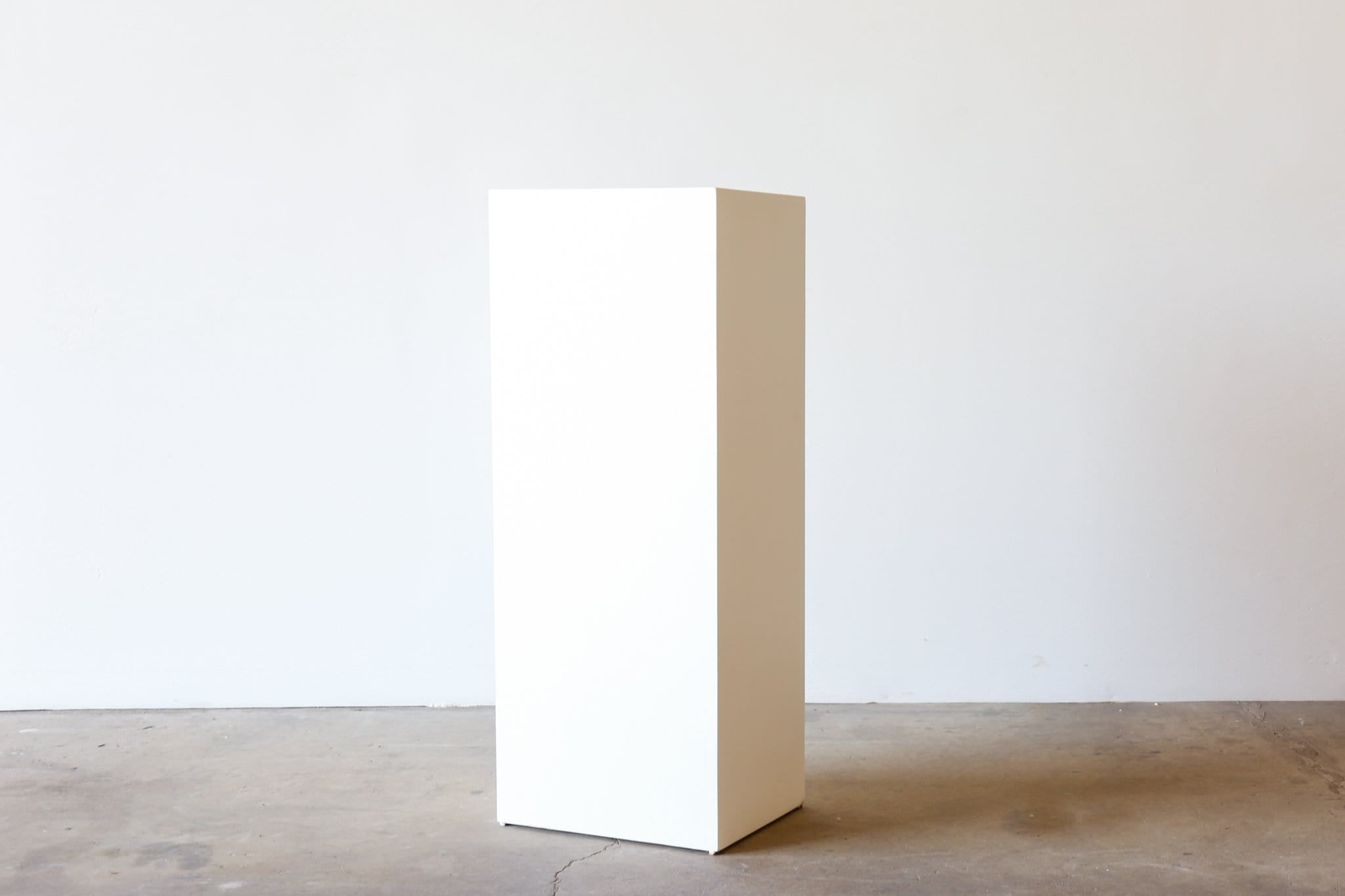 BK Plinth - RECTANGULAR 1000mm H - WHITE