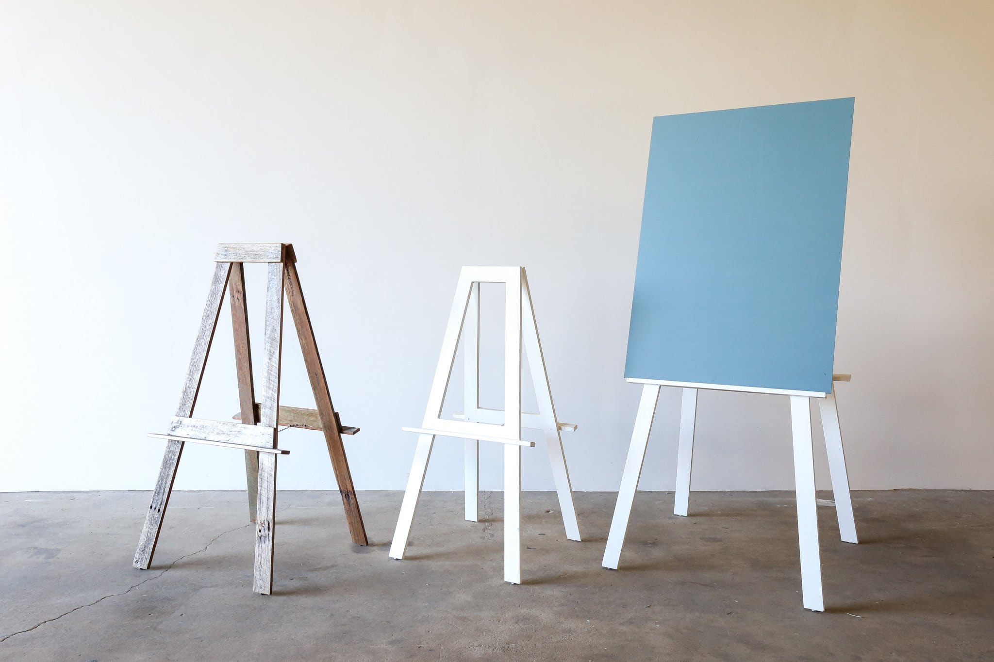 WHITE Easel (Small & Large)