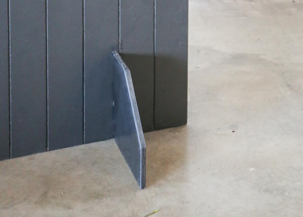 PANEL BEATER Wall Unit - BLACK