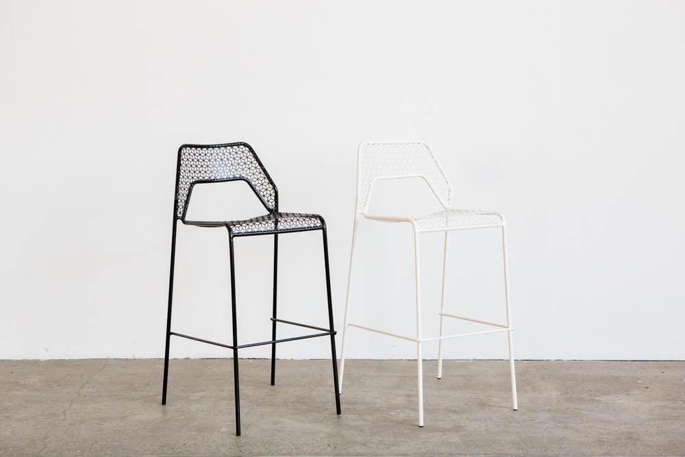 HOT MESH Bar Stool - WHITE OR BLACK