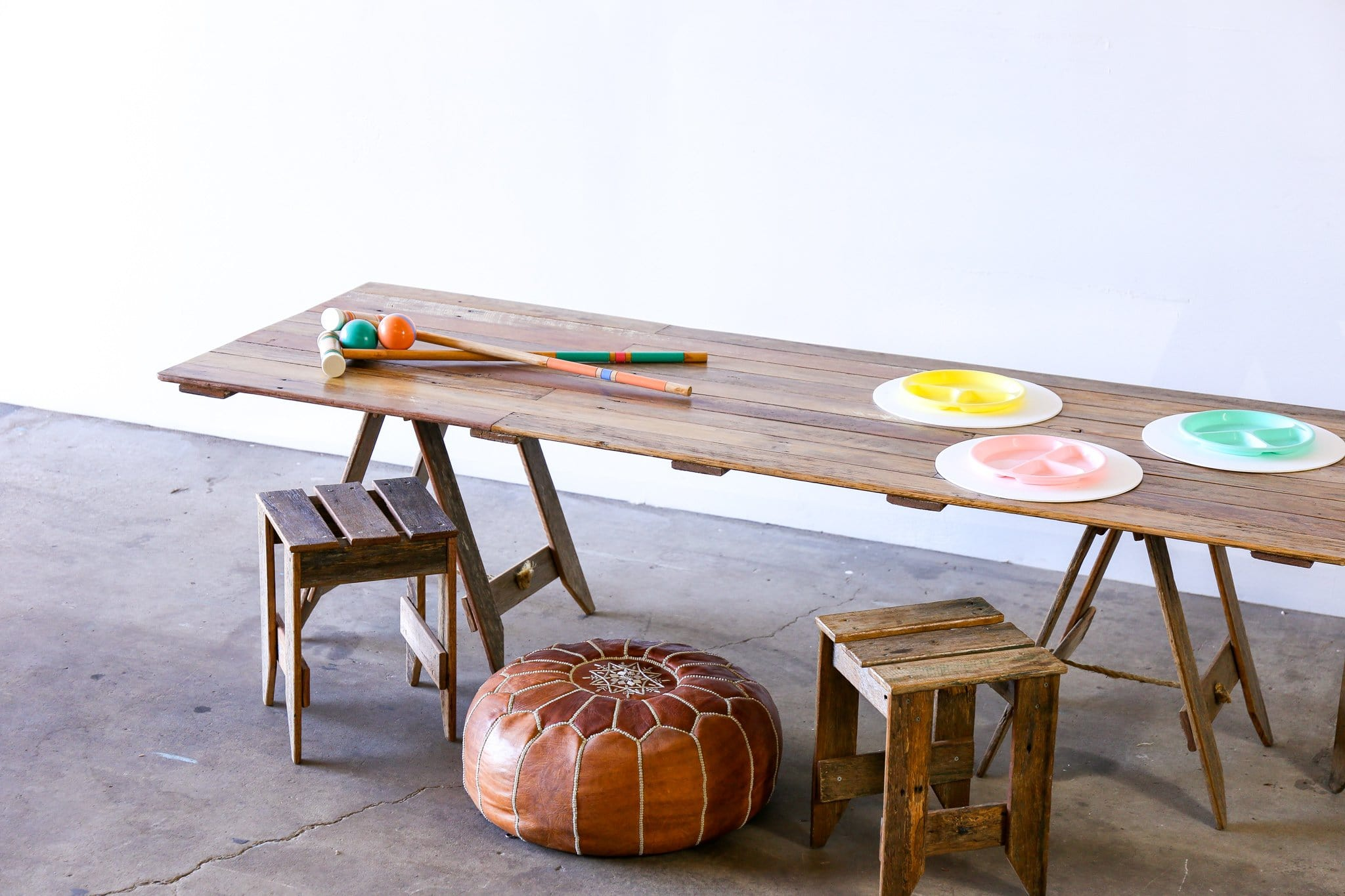 TRADITIONAL Trestle Table - KIDS