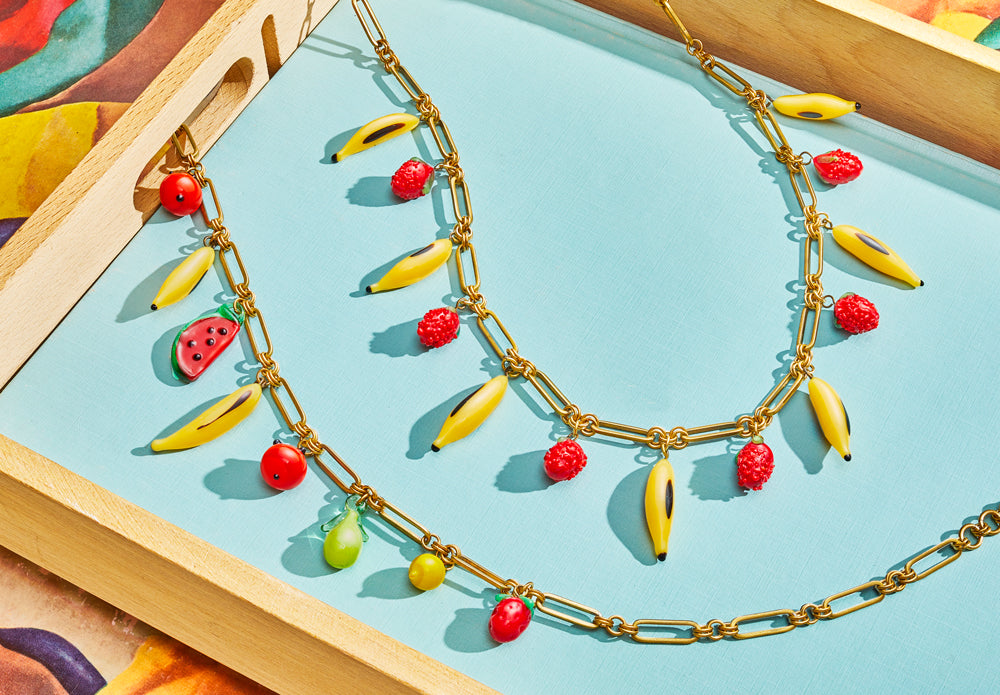 Vintage Fruit Charms