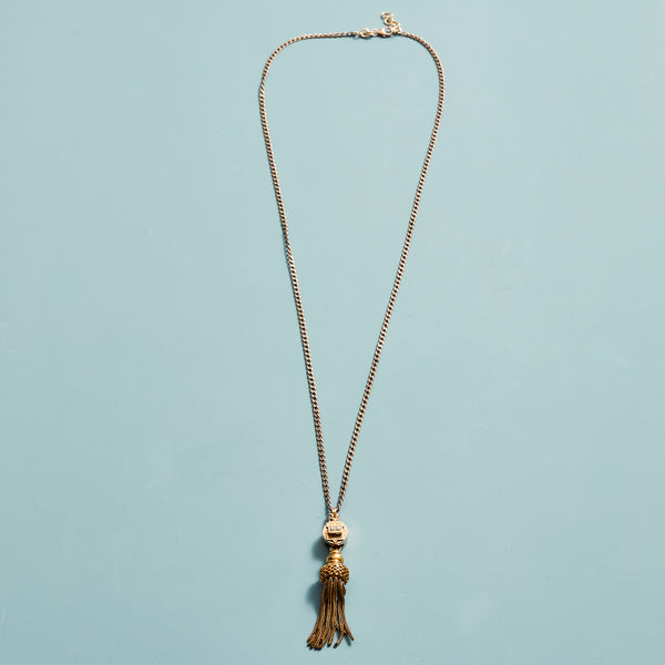 Antique Tassel Necklace