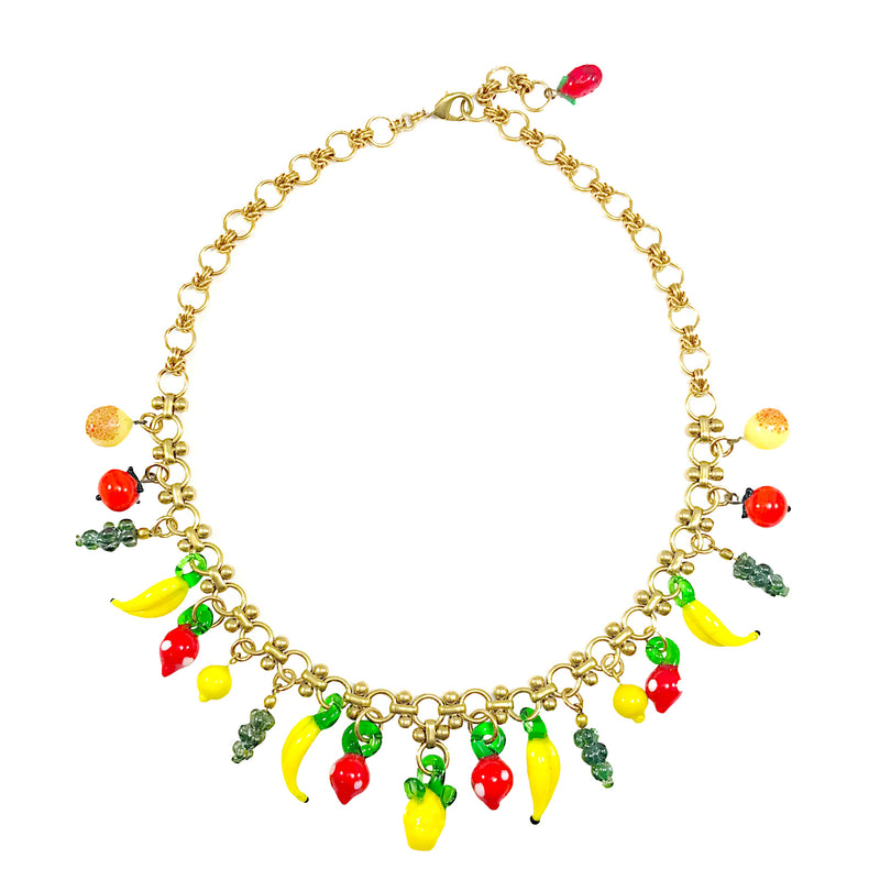 The Big Fruit Salad Vintage Necklace II