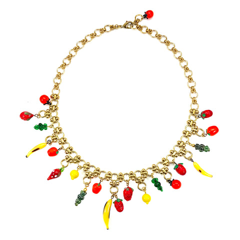 The Big Fruit Salad Vintage Necklace I
