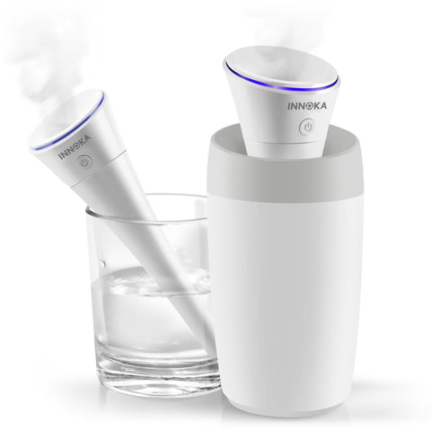 280ml Mini Humidifier [Detachable USB Cable] - White
