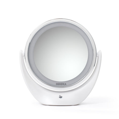 Dual-Sided Makeup Mirror (1X / 5X)