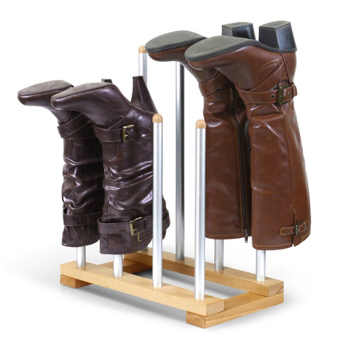 Modern Aluminum Boot Rack - 4 Pair