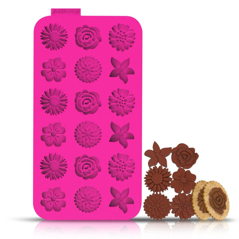 Silicone Chocolate Chip Mold - Flower