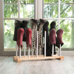 Modern Aluminum Boot Rack - 6 Pair