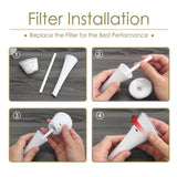 Cotton Filter Sticks (10 PCS)