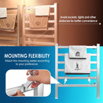 2-In-1 Freestanding & Wall Mounted Towel Warmer [2020 New Version]