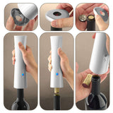 Rechargeable Electric Wine Corkscrew - White