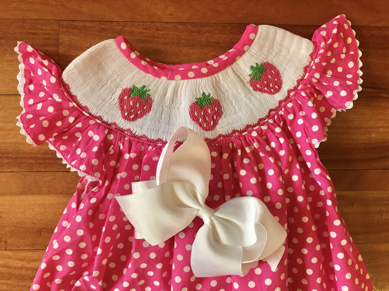 Strawberry Bishop Dress