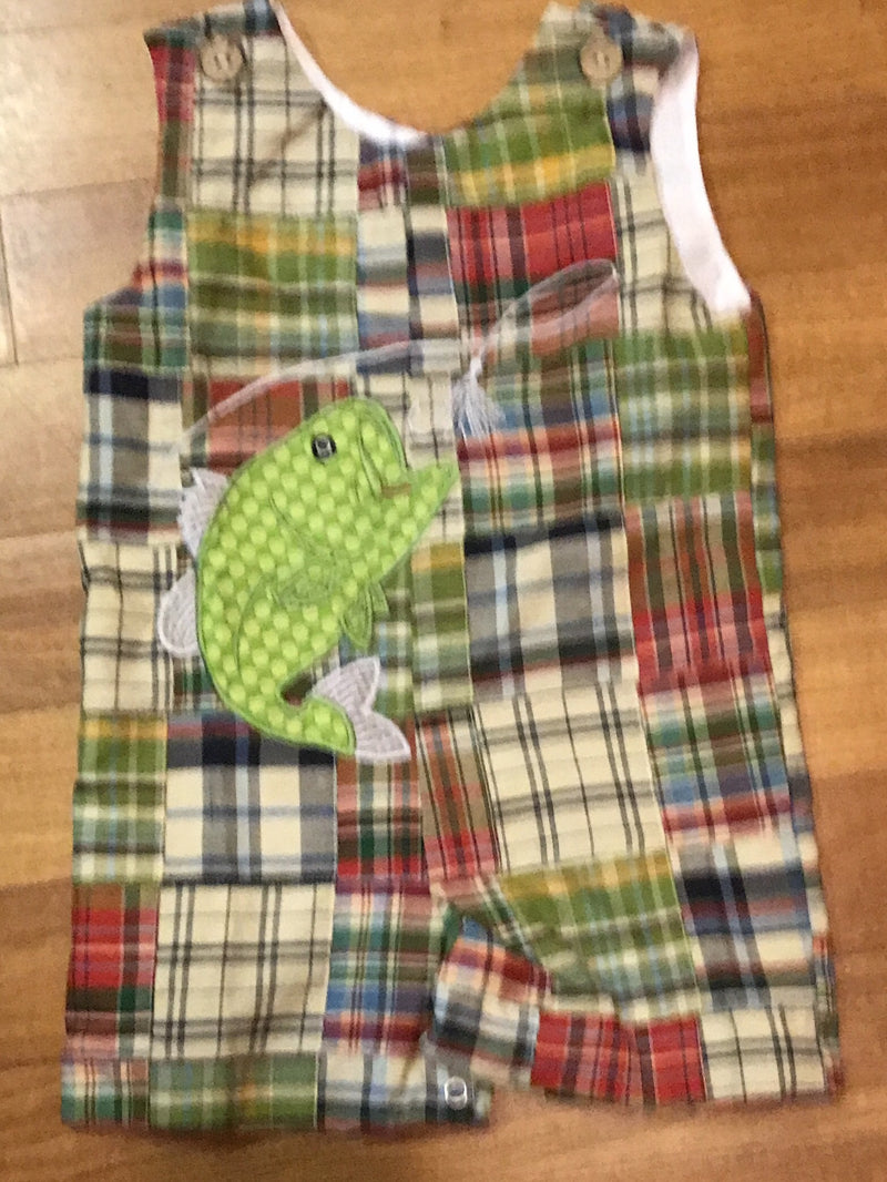 Gone Fishing With Daddy Jon Jon   Romper