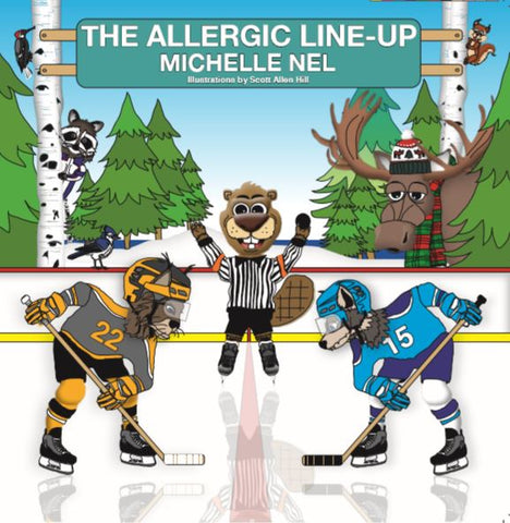 The Allergic Line-Up / E-book (epub)