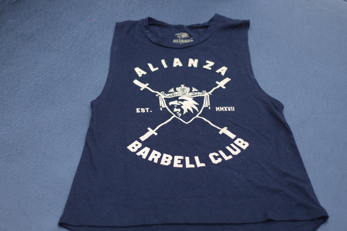 Barbell Club Muscle Tee
