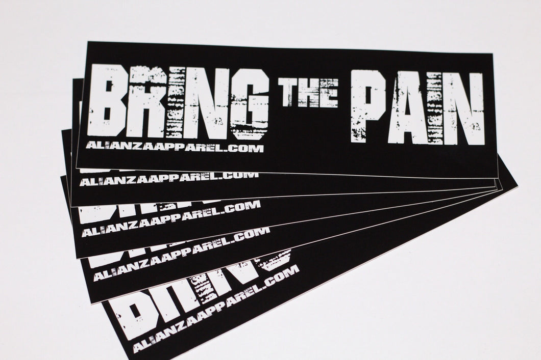 Bring the Pain Sticker