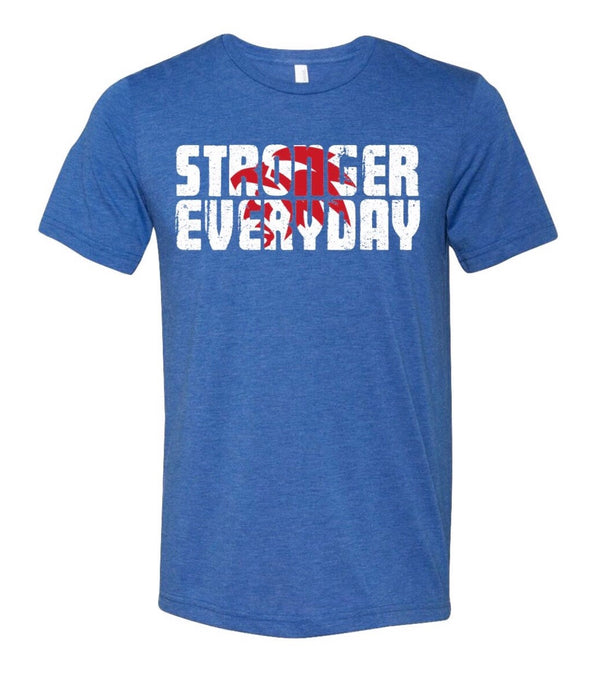 Men's Stronger Everyday Tee-Royal Blue