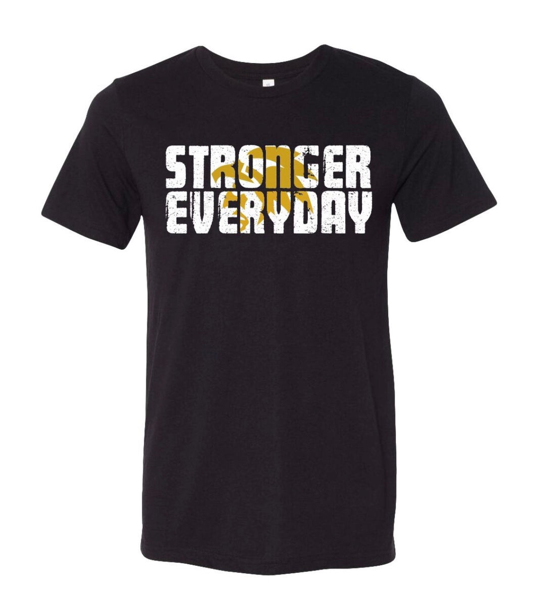 Men's Stronger Everyday Tee-Black