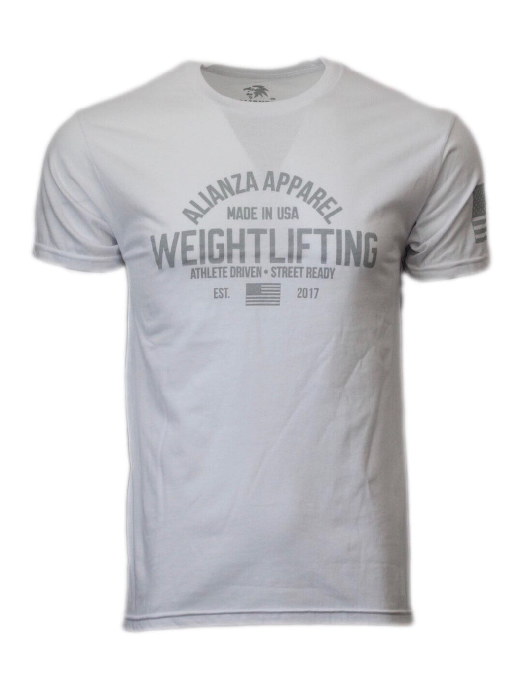 Men's Weightlifter Tee White