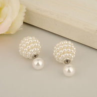 7 Colors Intimation Pearl Stud Earrings E1499