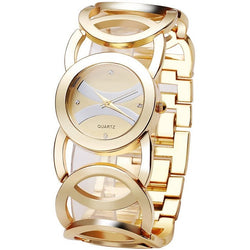 Gold Watches Women Quartz Wristwatches