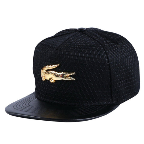 wholesale women men brand snapback cap custom design metal logo