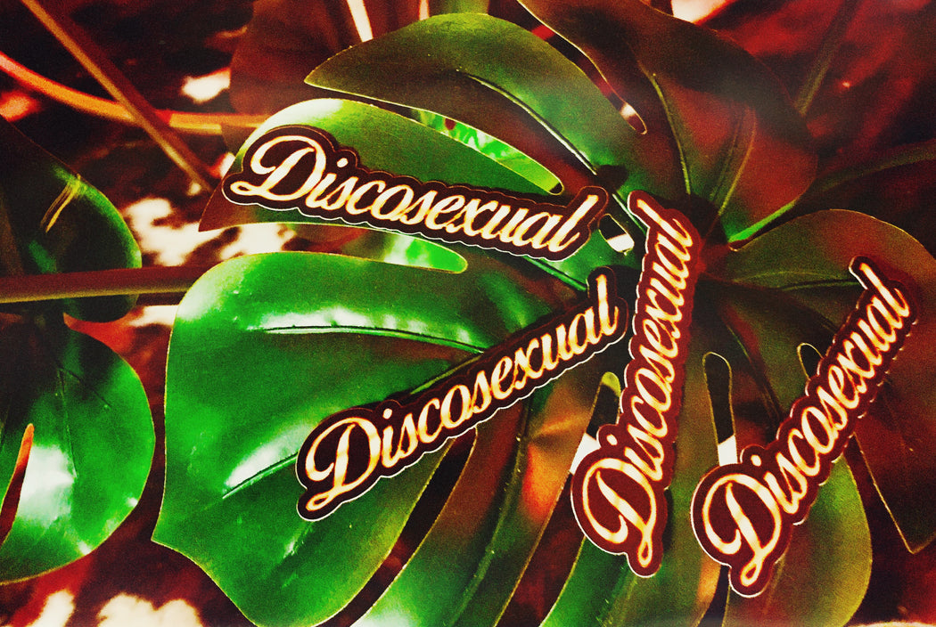 "DISCOSEXUAL ""Solid Gold"" Sticker"