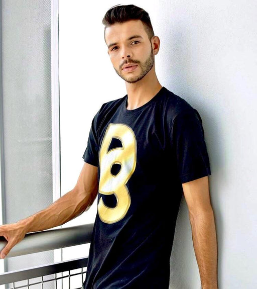 "DISCOSEXUAL ""Golden Monogram"" T-Shirt"