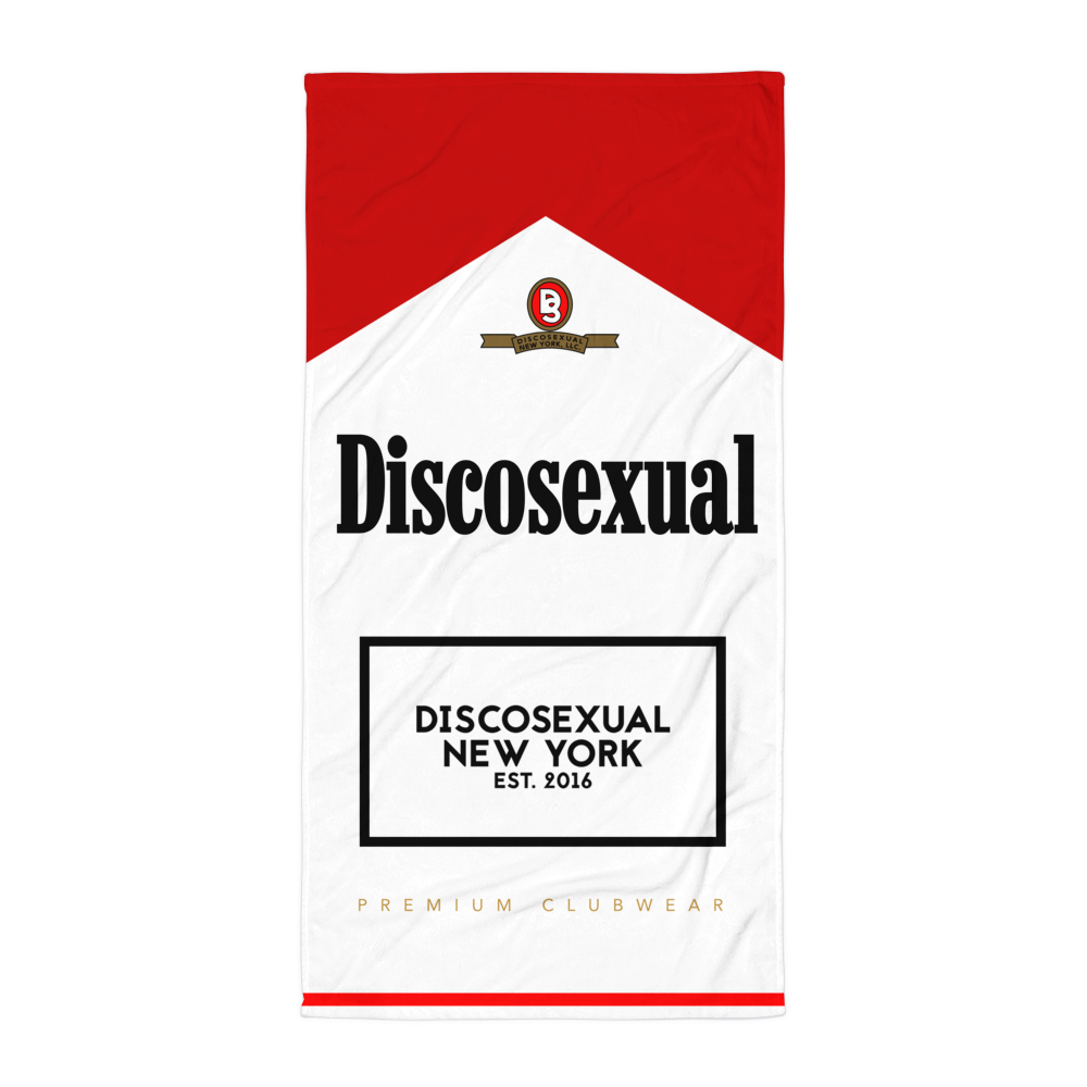 "DISCOSEXUAL ""Vices"" Towel"