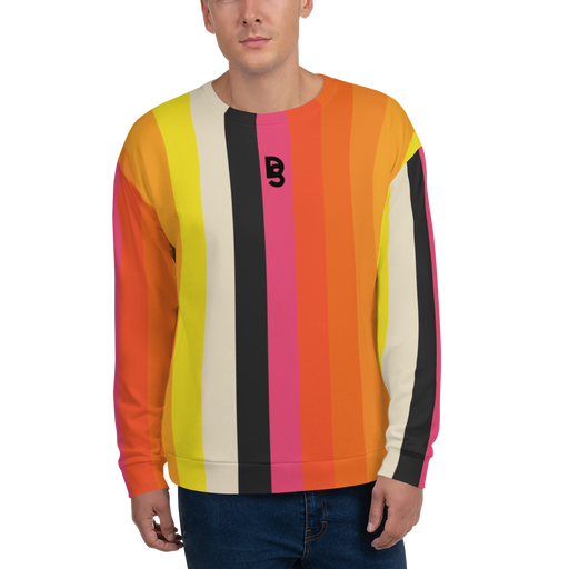 DISCOSEXUAL Striped Sweatshirt