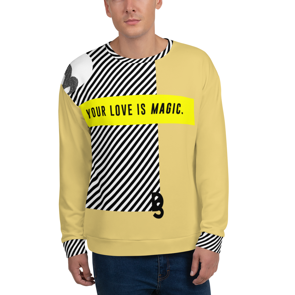 "DISCOSEXUAL ""Your Love Is Magic"" Sweatshirt"