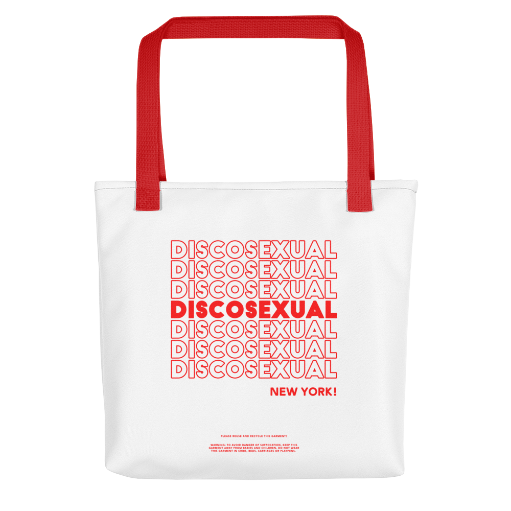 "DISCOSEXUAL ""THANK YOU!"" Shopper"