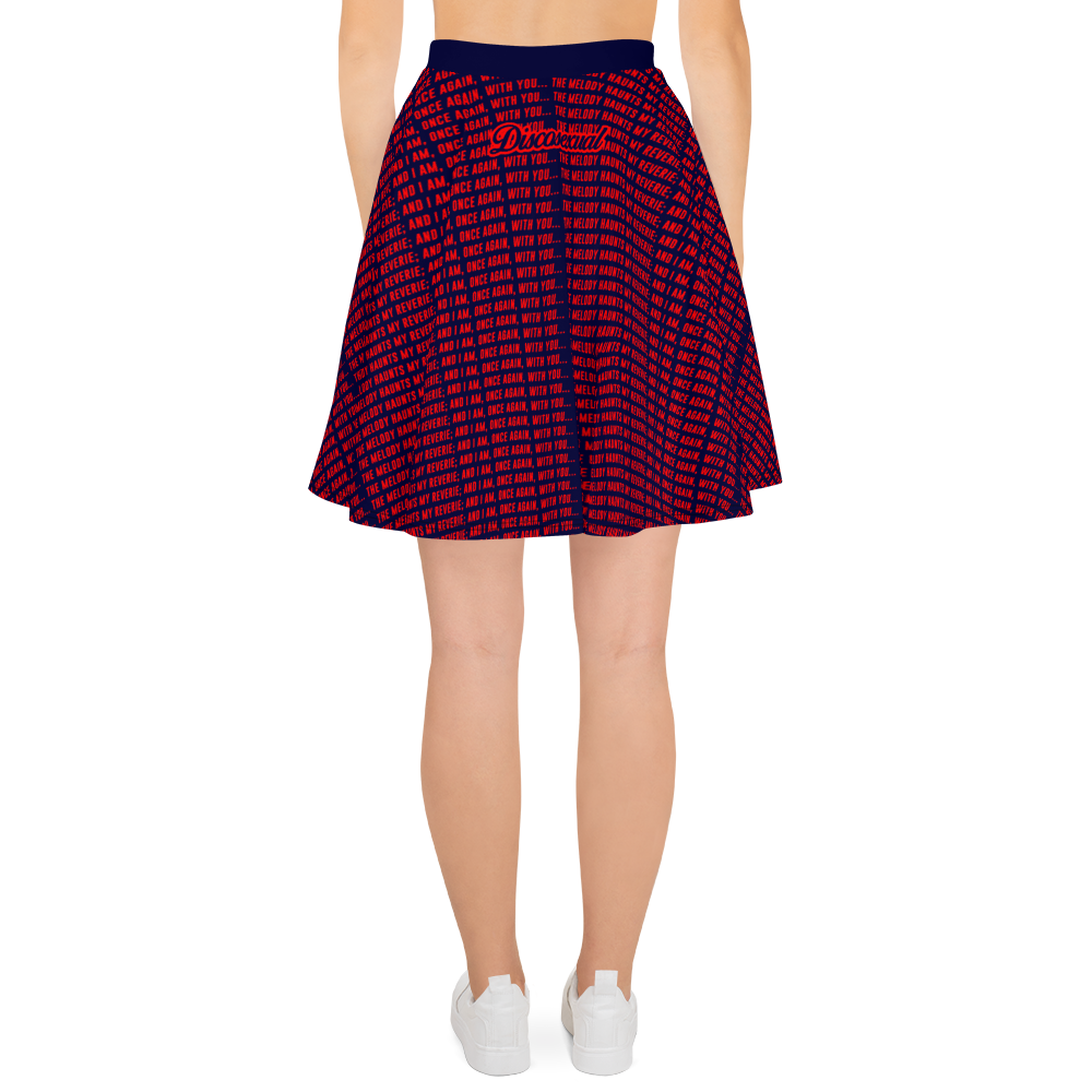"DISCOSEXUAL ""Melody"" Skater Skirt"