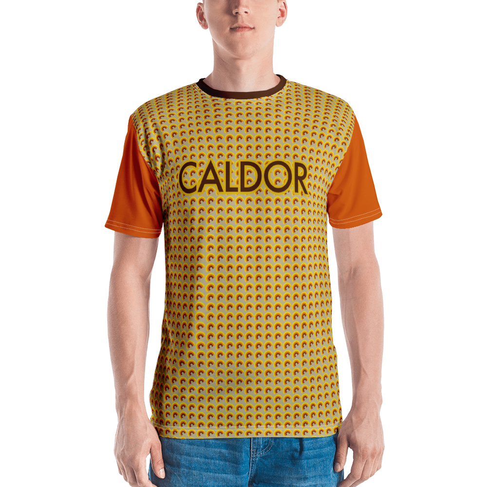 "DISCOSEXUAL ""Caldor"" Patterned T-shirt"